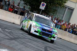 #73 Martlin Kalteis, Mitsubishi Lancer EVO VII