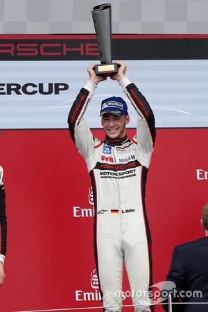Podium: winner Sven Muller