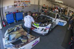 #555 Team Africa Le Mans, Ginetta G55 GT4