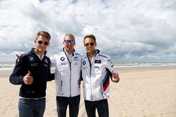 Marco Wittmann, BMW Team RMG, BMW M4 DTM, und Tom Blomqvist, BMW Team RBM, BMW M4 DTM