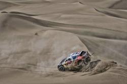 #100 Peugeot: Stéphane Peterhansel, Jean-Paul Cottret