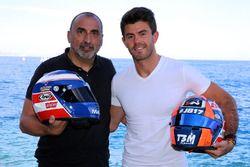 Norman Nato, Racing Engineering con Casco de Olivier Panis