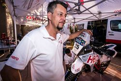 Wolfgang Fischer, Hero MotoSports Team Rally Team Manager