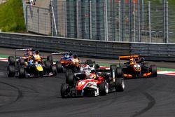 Start action Lance Stroll, Prema Powerteam Dallara F312 – Mercedes-Benz leads