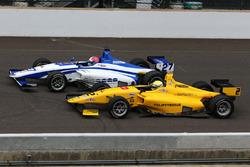 Juan Piedrahita, Team Pelfrey, und Dean Stoneman, Andretti Autosport