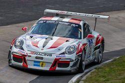 #56 Frikadelli Racing Team, Porsche 991 GT3 Cup: John Shoffner, Janine Hill, Arno Klaasen