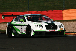#7 Bentley Team M-Sport Bentley Continental GT3: Guy Smith, Vincent Abril, Steven Kane