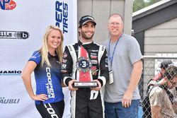 Third place André Negrao, Schmidt Peterson Motorsports