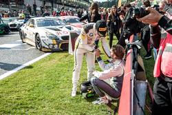 #99 Rowe Racing, BMW M6 GT3: Alexander Sims; #8 Bentley Team M-Sport, Bentley Continental GT3: Andy
