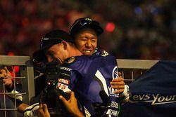 Yarış galibi #21 Yamaha Factory Racing Team: Katsuyuki Nakasuga, Pol Espargaro
