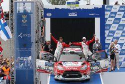 Third place Craig Breen, Scott Martin, Citroën World Rally Team