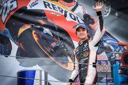 Podium: Sieger Lando Norris, Josef Kaufmann Racing
