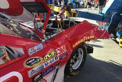 Kyle Larson, Chip Ganassi Racing Chevrolet, auto chocado