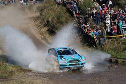 Henning Solberg, Ilka Minor, M-Sport, Ford Fiesta WRC