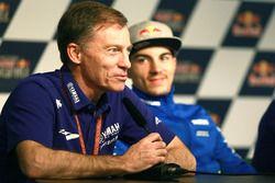 Lin Jarvis; Maverick Viñales, Team Suzuki MotoGP