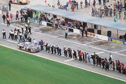 Dale Earnhardt fête sa victoire