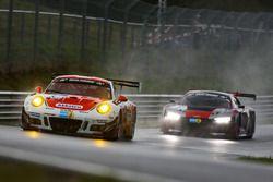 #3 Frikadelli Racing Team, Porsche 991 GT3 R: Klaus Abbelen, Sabine Schmitz, Patrick Huisman