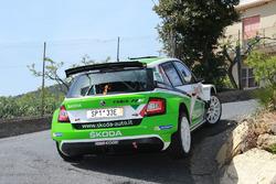 Umberto Scandola e Guido d'Amore, Skoda Fabia R5, Skoda Motorsport Italia