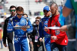 Ricky Stenhouse Jr., Roush Fenway Racing Ford, signe des autographes