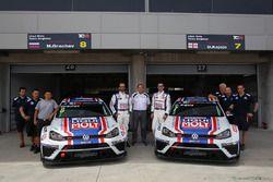 Mikhail Grachev, Volkswagen Golf TCR, Liqui Moly Team Engstler e Davit Kajaia, Volkswagen Golf GTI TCR Liqui Moly Team Engstler