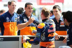 Polesitter Brad Binder, Red Bull KTM Ajo