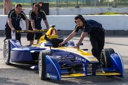 Die Crew von Renault e.Dams