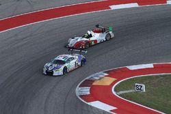 #9 Stevenson Motorsports Audi R8 LMS GT3: Matt Bell, Lawson Aschenbach, #8 Starworks Motorsports ORE
