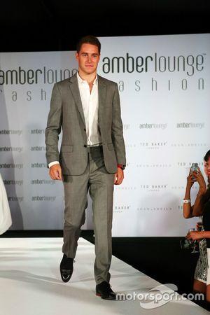 Stoffel Vandoorne, McLaren au Amber Lounge Fashion Show.