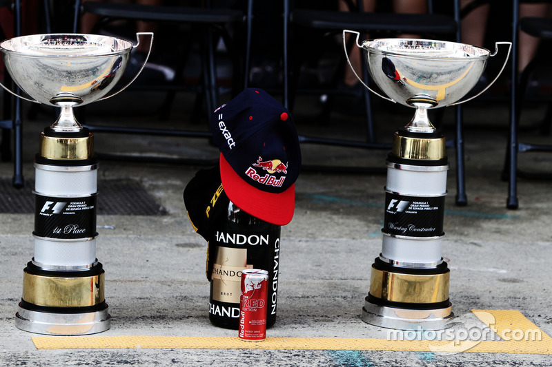 Los trofeos de Max Verstappen, Red Bull Racing