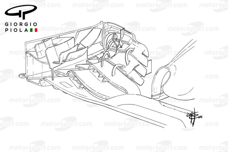 McLaren MP4/31, Frontflügel für Barcelona