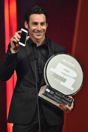 Simon Pagenaud, Equipo Penske Chevrolet con el Premio Verizon P1