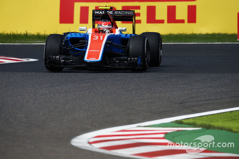 21. Esteban Ocon, Manor Racing MRT05