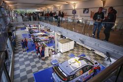 Service park Hyundai Motorsport