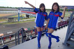 Lovely Subaru Breeze girls