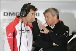 Mark Webber, Porsche Team, Fritz Enzinger, Vize-Präsident LMP1, Porsche Team