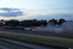 Crash von #60 Michael Shank Racing with Curb/Agajanian Ligier JS P2 Honda: John Pew, Oswaldo Negri,