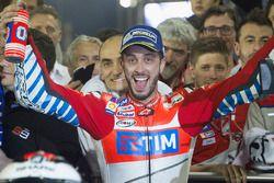 Le deuxième Andrea Dovizioso, Ducati Team