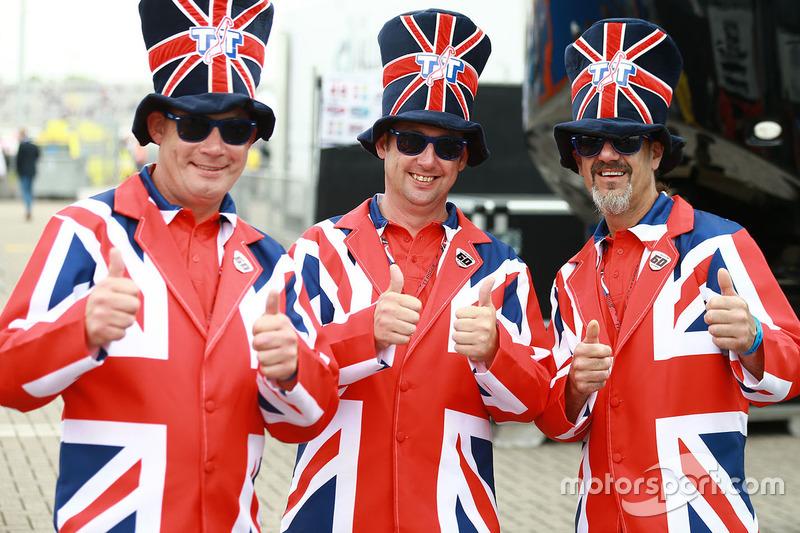 Britische Fans