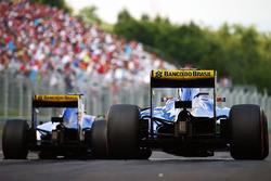 Felipe Nasr, Sauber C35 et Marcus Ericsson, Sauber C35