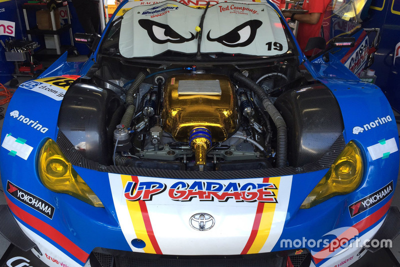 #18 Team Upgarage With Bandoh, Toyota MC86