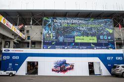 Ford Chip Ganassi Racing zona de Paddock