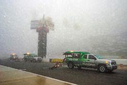 Air-Titans im Regen auf dem Pocono Raceway
