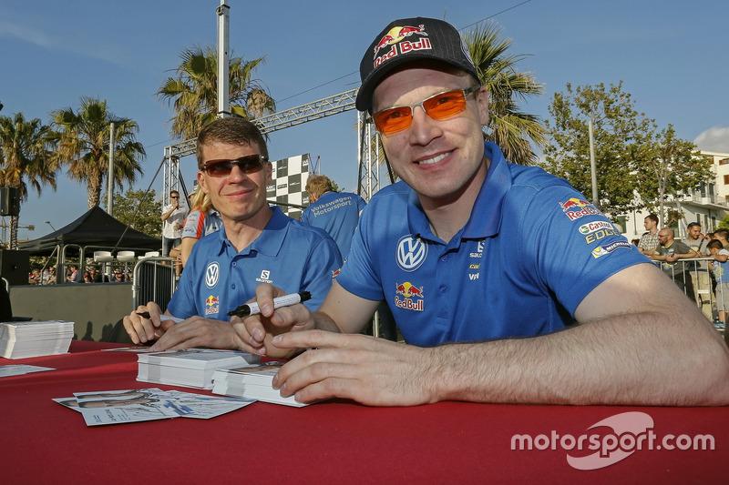 Miikka Anttila ,Jari-Matti Latvala, Volkswagen Motorsport