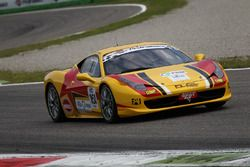 Zanardini-Sauto Duell Race, Ferrari 458 Italia-GTCup #161