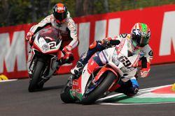 Nicky Hayden, Honda WSBK Team et Leon Camier, MV Agusta