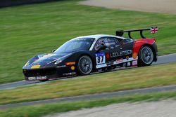 #87 Kessel Racing, Ferrari 458: Peter Knoflach