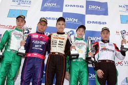 DSKM Sieger Rennen 1: Jorrit Pex; Davide Fore; Simo Puhakka; Douglas Lundberg