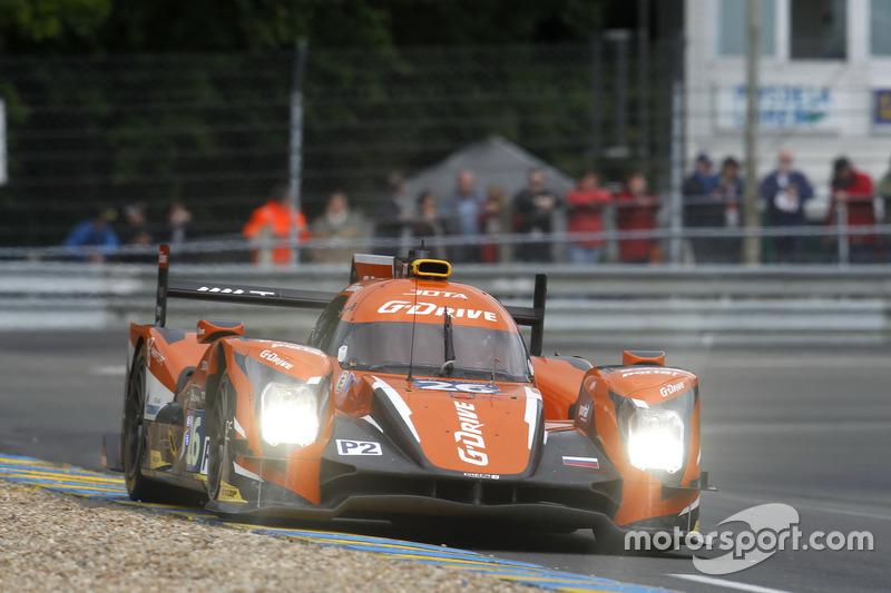 10: (LMP2 POLE) #26 G-Drive Racing Oreca 05 Nissan: Roman Rusinov, Will Stevens, René Rast