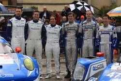 #78 KCMG Porsche 911 RSR: Christian Ried, Wolf Henzler, Joel Camathias and #47 KCMG Oreca 05 Nissan: