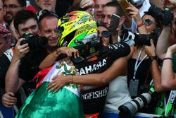 Tercer lugar Sergio Pérez, Force India F1 VJM09